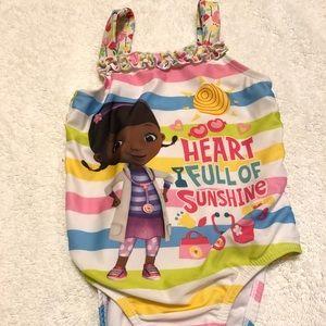 Doc McStuffins one-piece swimsuit - 3t